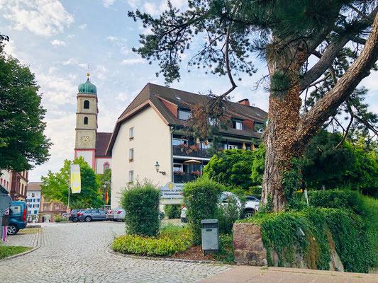 "Hotel ""Goldener Knopf"" mit Terrasse ""Le Jardin"""