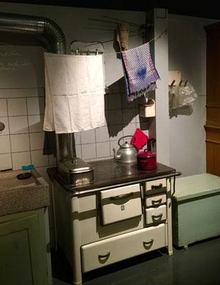Wohnküche 50er Jahre