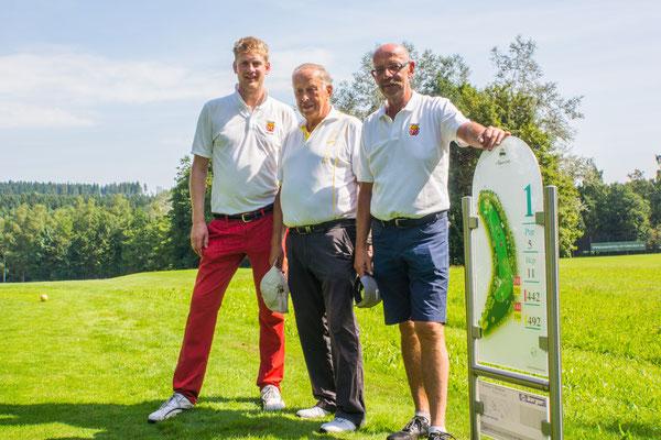 Jonathan, Rudi und Dieter