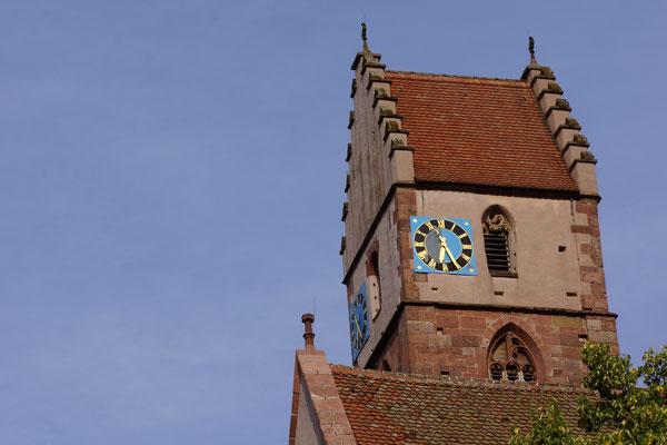 Das Kloster mit markantem Kirchturm