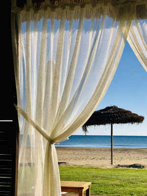 Strand-Pavillons für VIPs