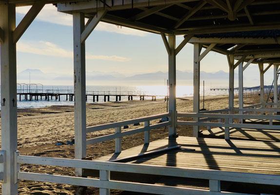 Am Sirene-Strand