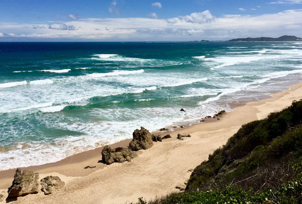 Strand bei Brenton on sea