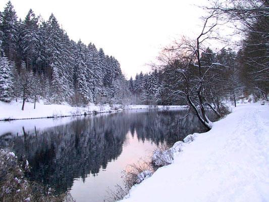 Breitenbach-See in Lützenhardt