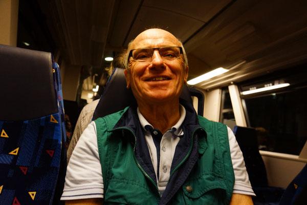 Mit der Ortenaubahn wieder zurück nach Loßburg.