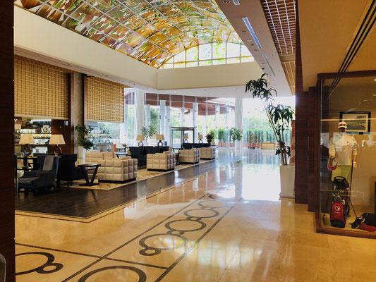 Sirene Eingang, Lobby