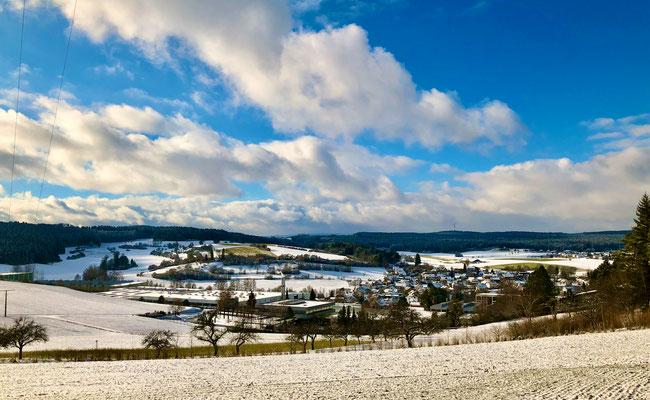 Panoramablick Tumlingen Richtung Schopfloch