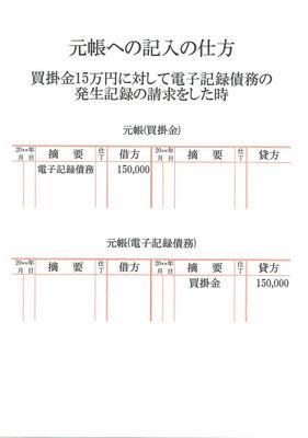 元帳(買掛金・電子記録債務)