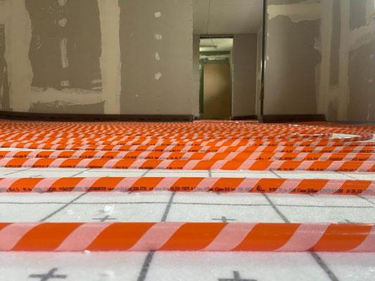 Fußbodenheizung Rehau