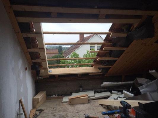 Fensteröffnung für Dachflächenfenster MADEJA e.k.