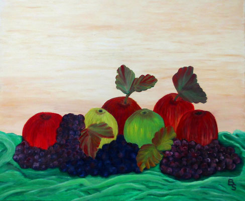 Früchte, 60*50, 2016