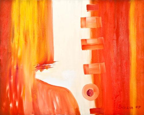 Frau ohne Gesicht, 100*80, 2007