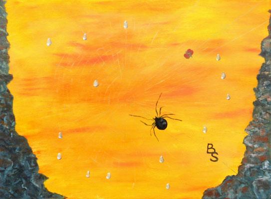 Otto the spider, 40*30, 2016