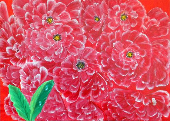 Chrysantemen, 70*50, 2016