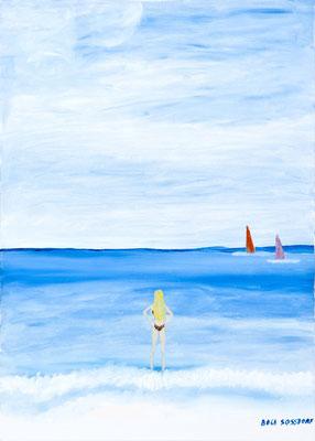 Zwischen Himmel und Sohn, 50*70, 2008 (Cover meines gleichnamigen, 2010 erschienen Buches)
