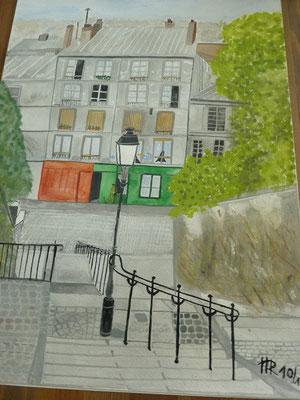 Pariser Treppe