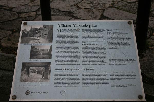 Mäster Mikaels gata