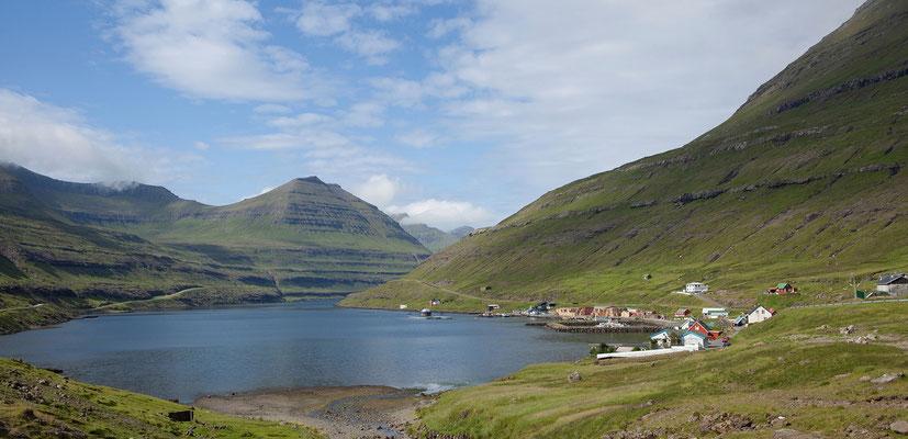 28.7. Färöer Inseln - Eysturoy - Oyndarfjørður