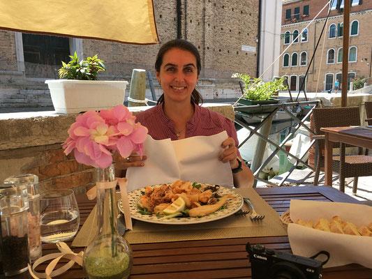 01.07. Antica Osteria da Gino - es schmeckt ausgezeichnet!