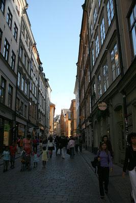 Abendspaziergang durch die Altstadt (Gamla Stan)