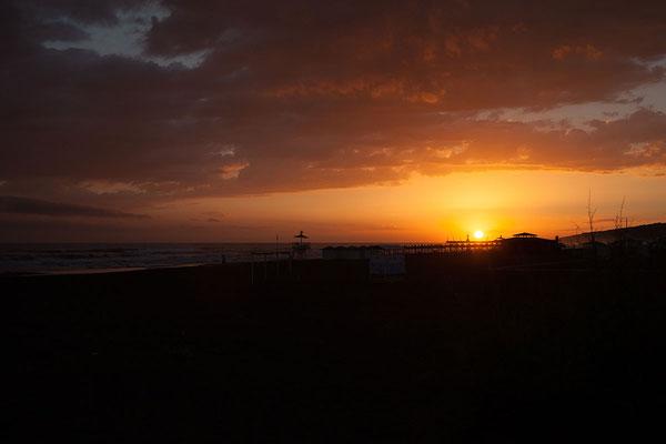17.9. Sonnenuntergang an der Velika Plaža