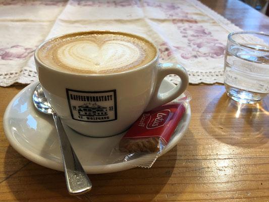 Kaffeepause in St. Wolfgang