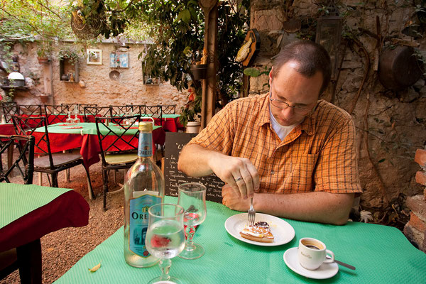 01.09. St. Florent, Restaurant L'Arrière Cour
