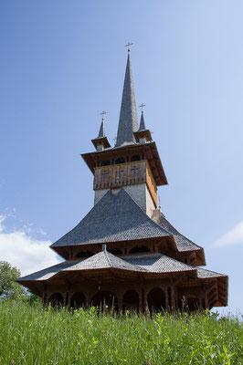 01.06. Cuvioasa Paraschiva, Deseşti. Diese Holzkirche wurde 1770 erbaut.