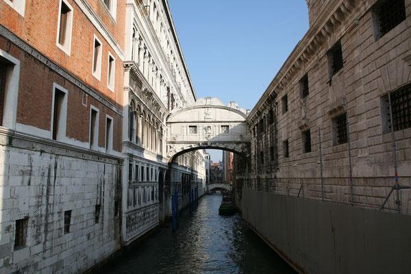 14.09. Blick auf die Seufzerbrücke