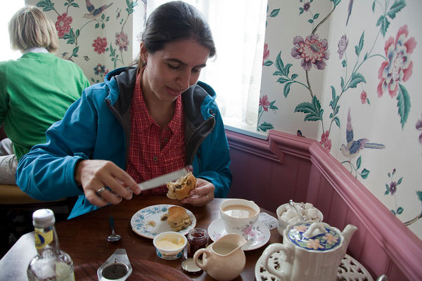 01.09. Cream Tea im South Foreland Lighthouse.