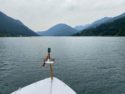 Unterwegs mit dem Schiff