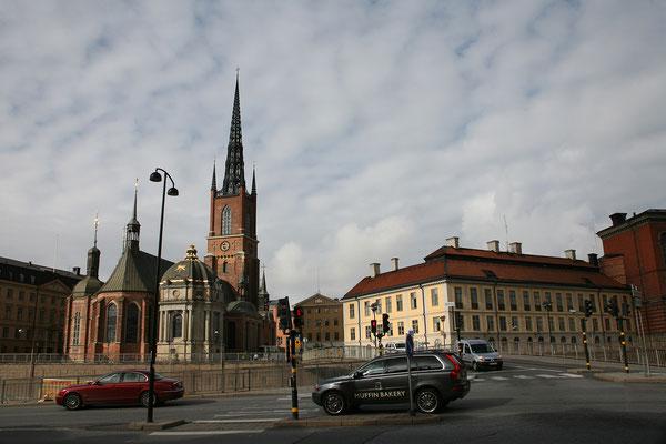 Riddarholmen, Riddarholmskyrkan