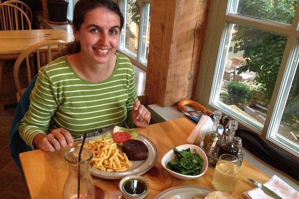 16.06. Cluj: Abendessen im Restaurant Boema (nachahmenswert!)