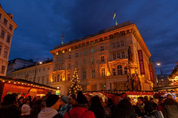 Weihnachtsmarkt auf der Freyung