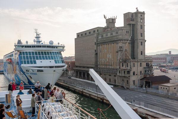 22.5. Fährüberfahrt - Livorno - Bastia