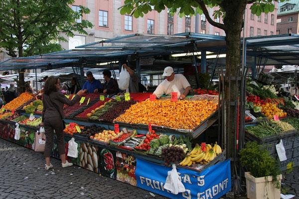 Hötorget Markt in Norrmalm
