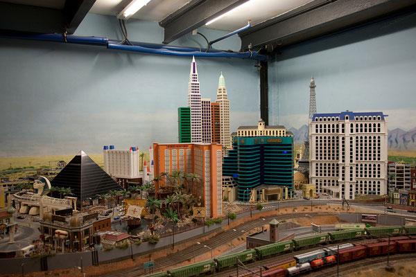 24.07. Miniaturwunderland: Las Vegas