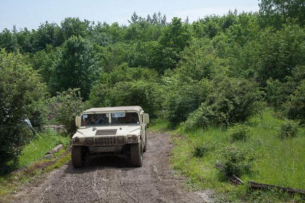 Selbstfahren mit Hummer (dem echten!)...
