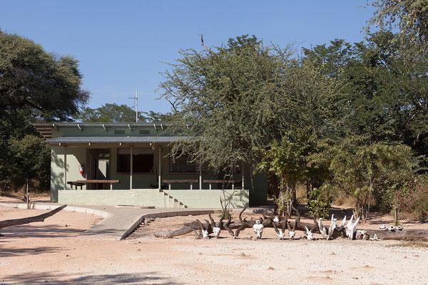 29.4. Heute besuchen wir nochmals den Bwabwata NP/Kwando Core Area.