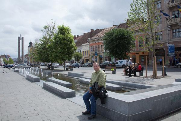 17.06. Cluj: Piața Unirii