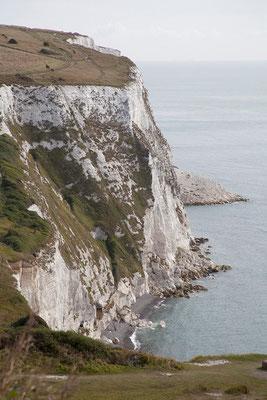 01.09. Wir besuchen die berühmten White Cliffs of Dover.