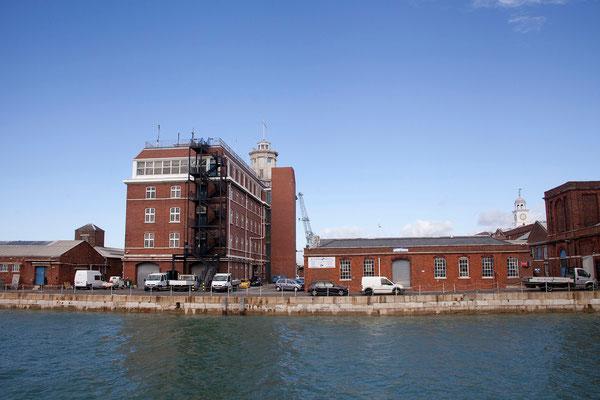 16.09. In Portsmouth besuchen wir den Historic Dockyard.
