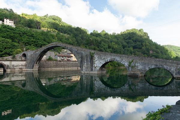 08.06. Ponte del Diavolo über dem Serchio