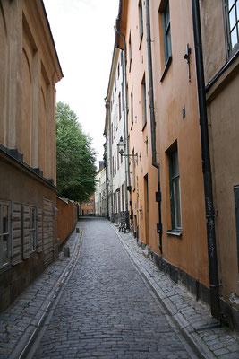 Gasse in der Altstadt (Gamla Stan)