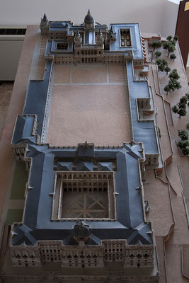 24.09. Modell - Königspalast & La Almudena