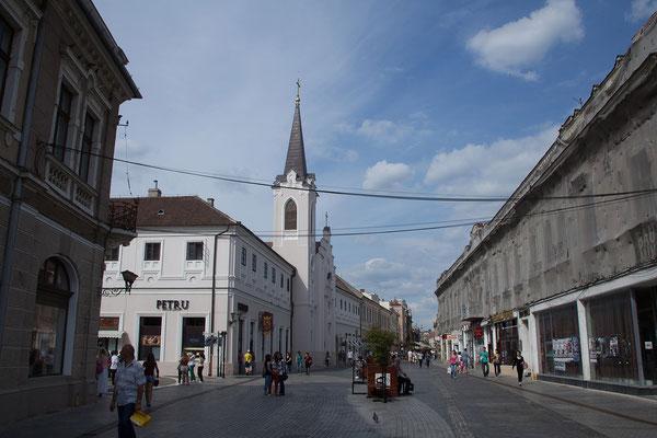 19.06. Oradea: Füßgängerzone