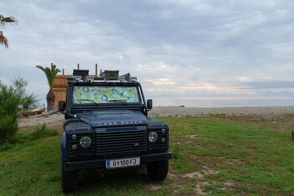 05.06. Camping A Merendella: Um diese Jahreszeit ist es hier noch beschaulich ruhig.