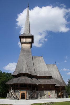 31.05. Mănăstirea Sfântul Arhanghel Mihail Săpânța-Peri , hier wurde ab 1997 die höchste Holzkirche Europas erbaut