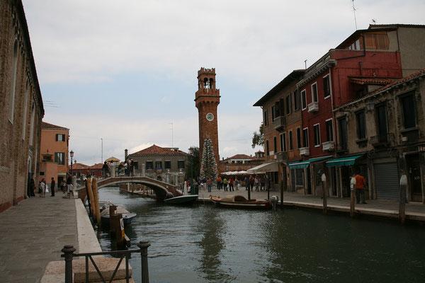 15.09. Ein Vaporetto hat uns nach Murano gebracht.