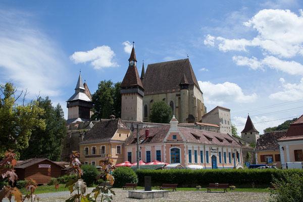 15.6. In Biertan besuchen wir die bekannte Kirchenburg.